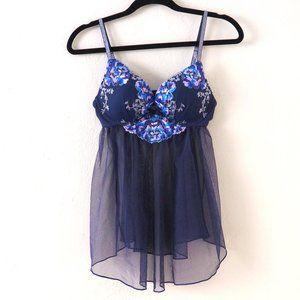 Victoria's Secret Blue Underwire Push Up